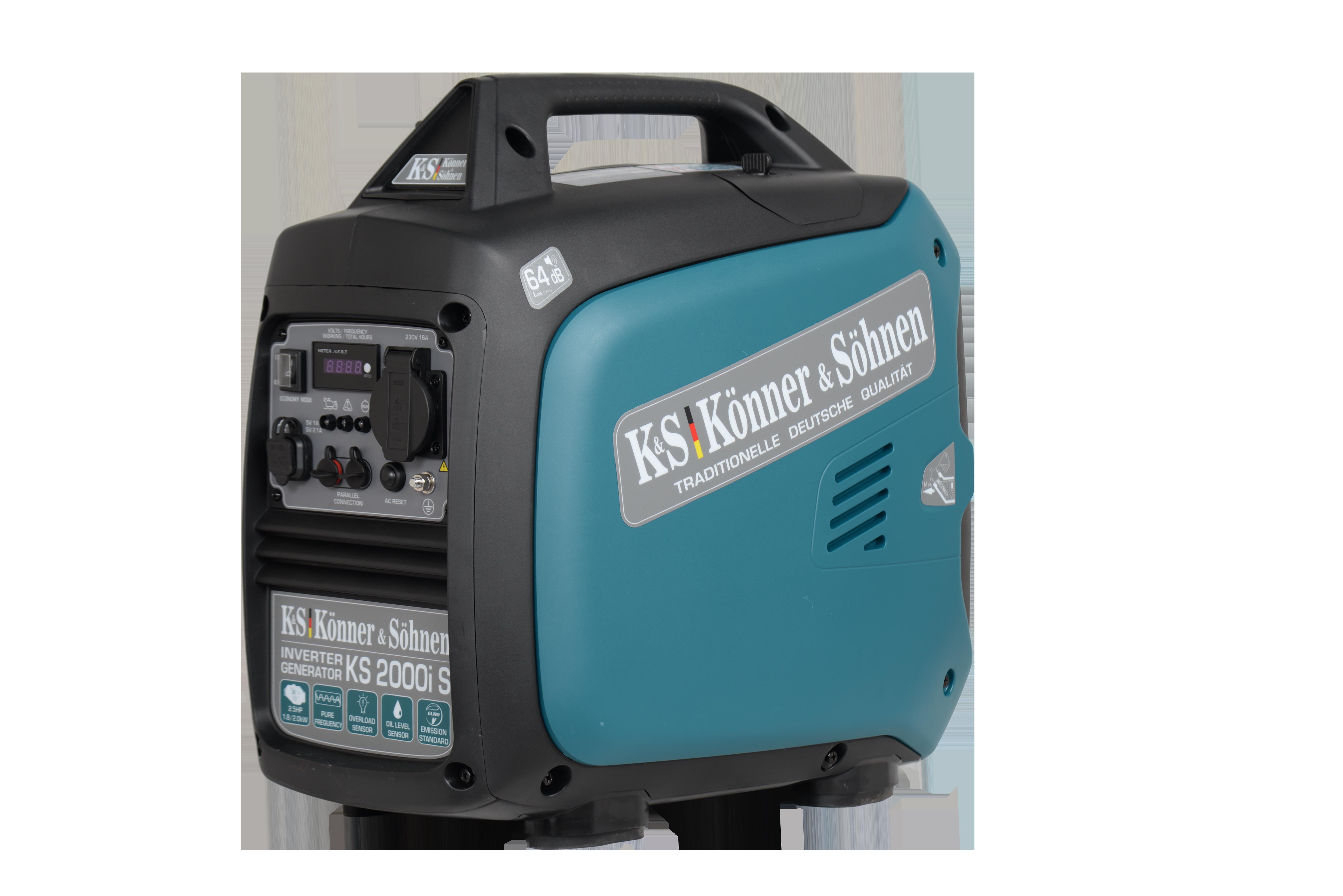 VORVERKAUF!!! K&S Inverter 2.000 Watt Benzin KS2000iS Stromaggregat auch Werkzeuge