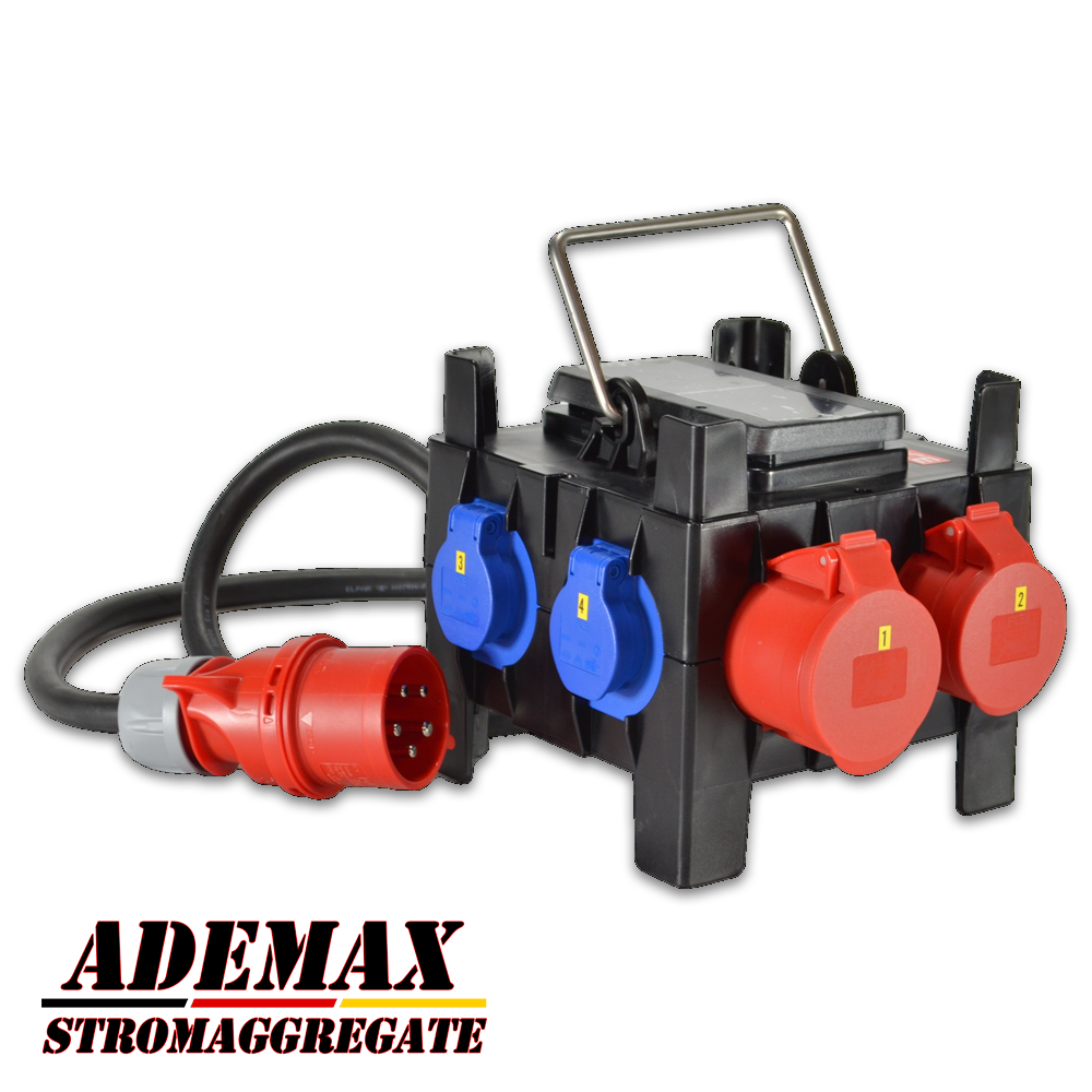 Adapter Verteiler 400V 32A für ITC Power Hyundai Kompak Energy Fogo etc. Stromaggregate