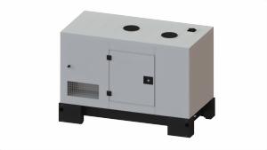 FOGO Industrie Stromaggregat FM12 12.9 kVA Diesel Mitsubishi