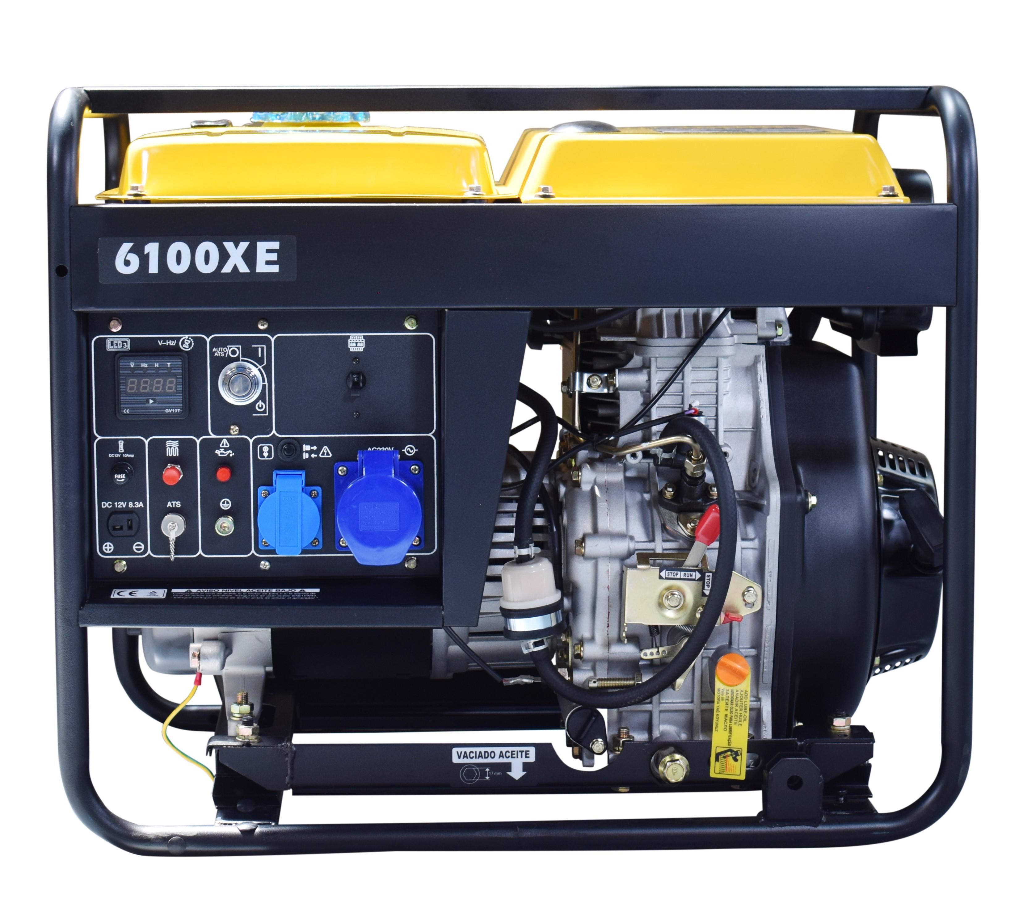 KOMPAK 5500 Watt Diesel 6100XE Stromaggregat