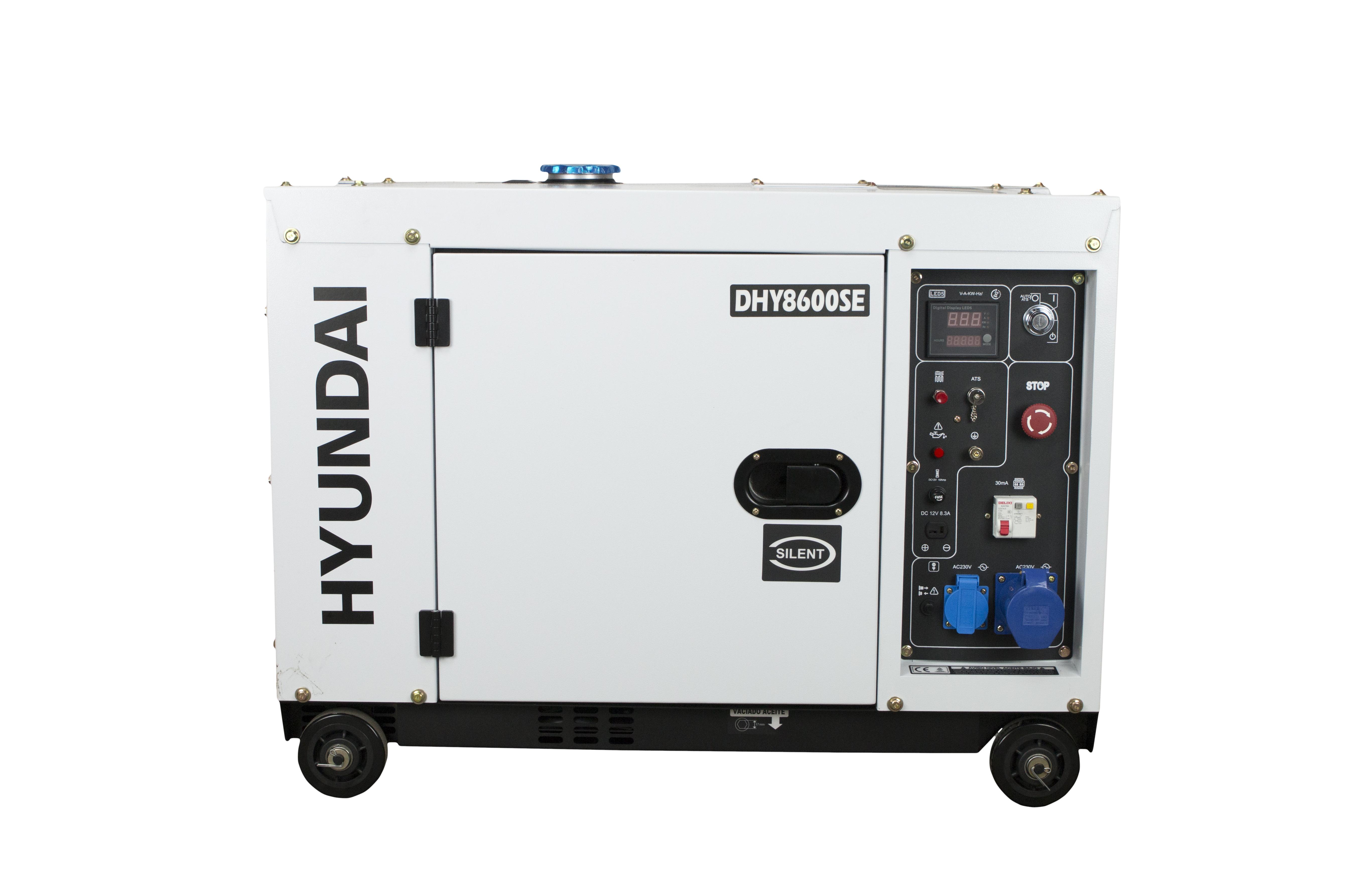 HYUNDAI 6500 Watt Diesel DHY8600SE Stromaggregat