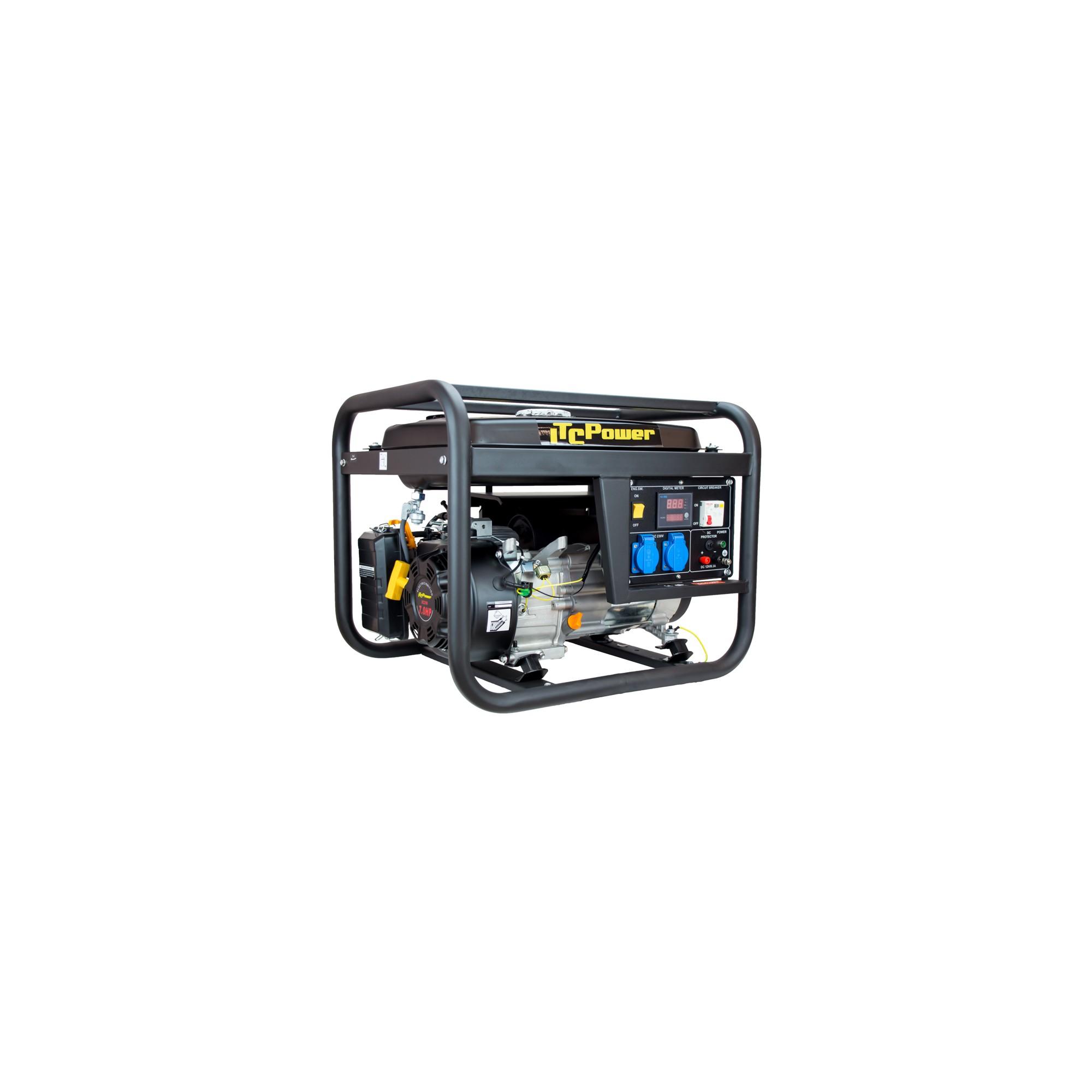 ITC POWER 3.200 Watt Benzin GG4100L Stromaggregat