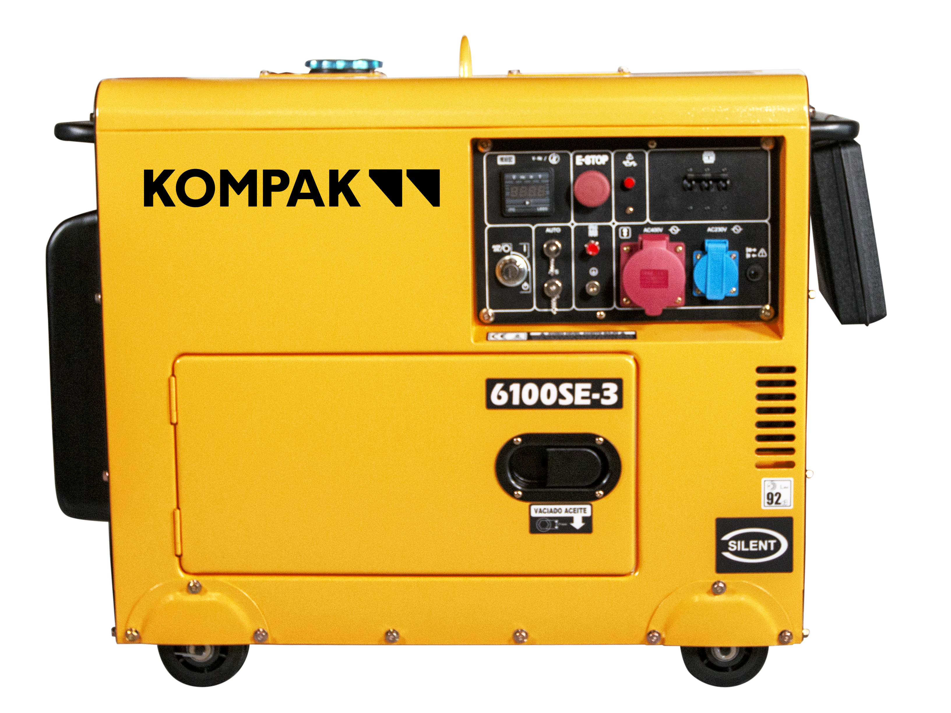 KOMPAK 6.9 kVA Diesel 6100SE-3 400V Stromaggregat