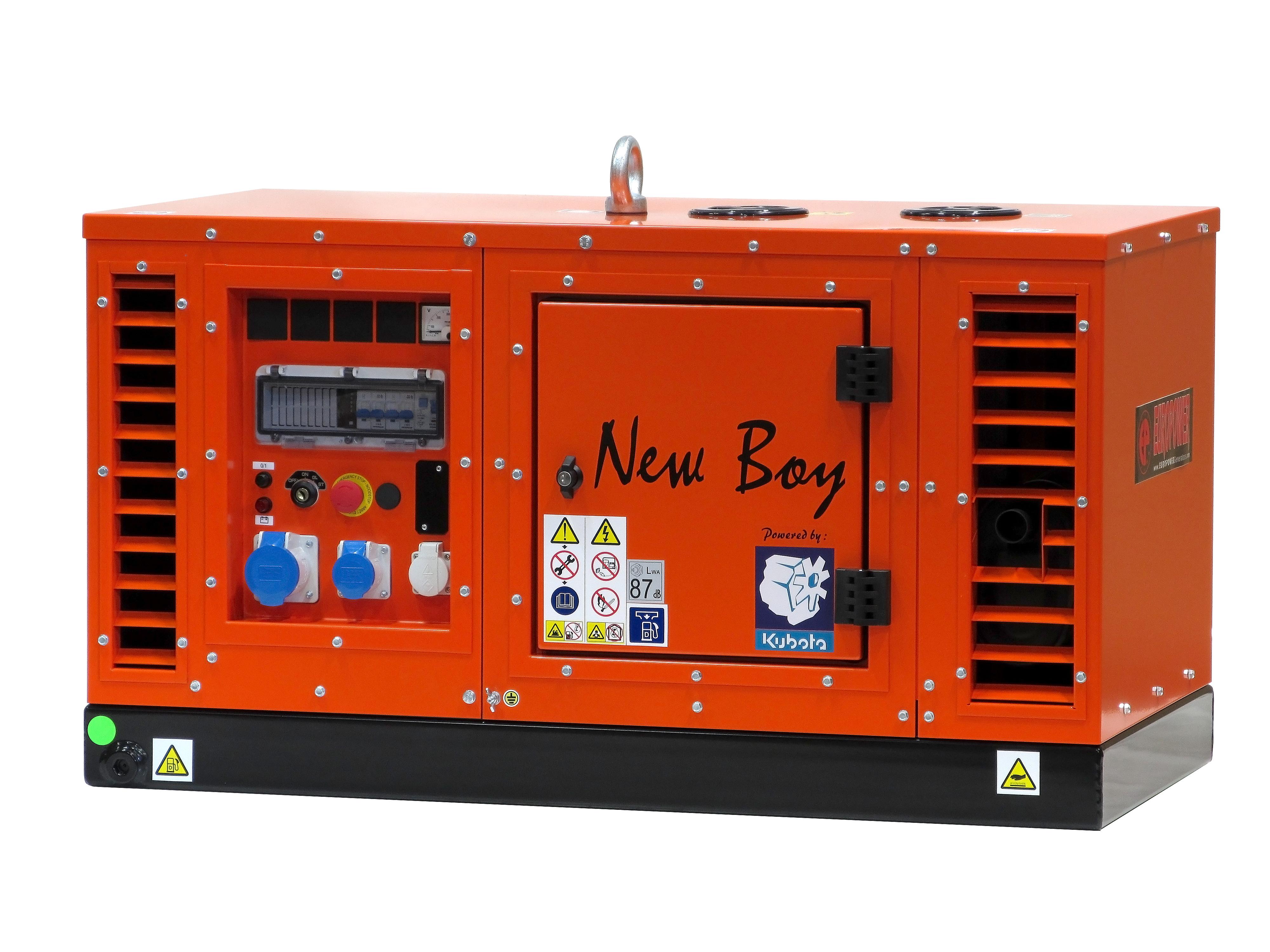 Super-schallgedämmter 6 KW Stromerzeuger mit Kubota wassergekühltem Dieselmotor