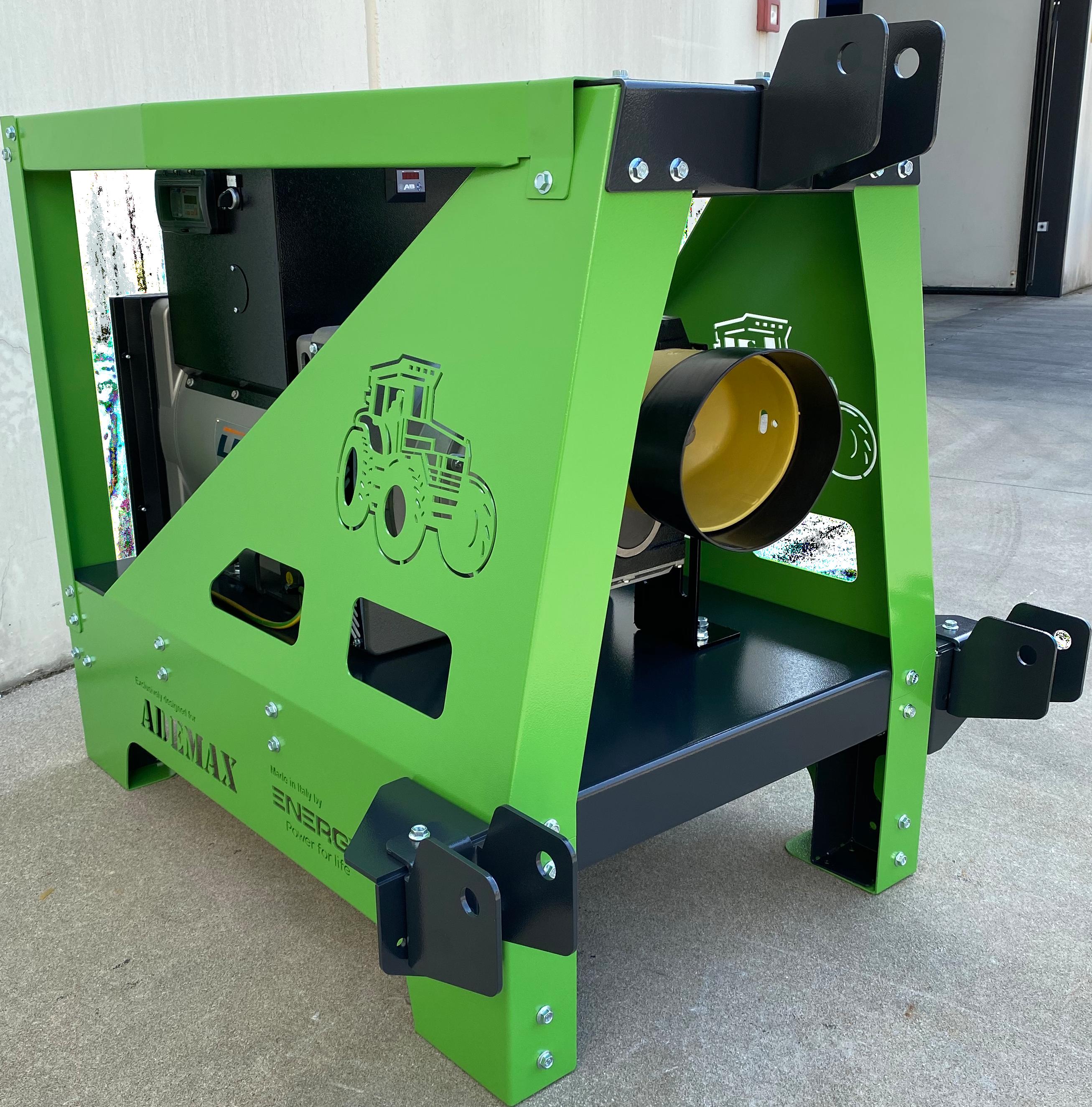 ENERGY Zapfwellengenerator 55 kVA ADEY-50TCS-AVR-IP-ISO mit AVR & IP44 Haus & Feldbetrieb
