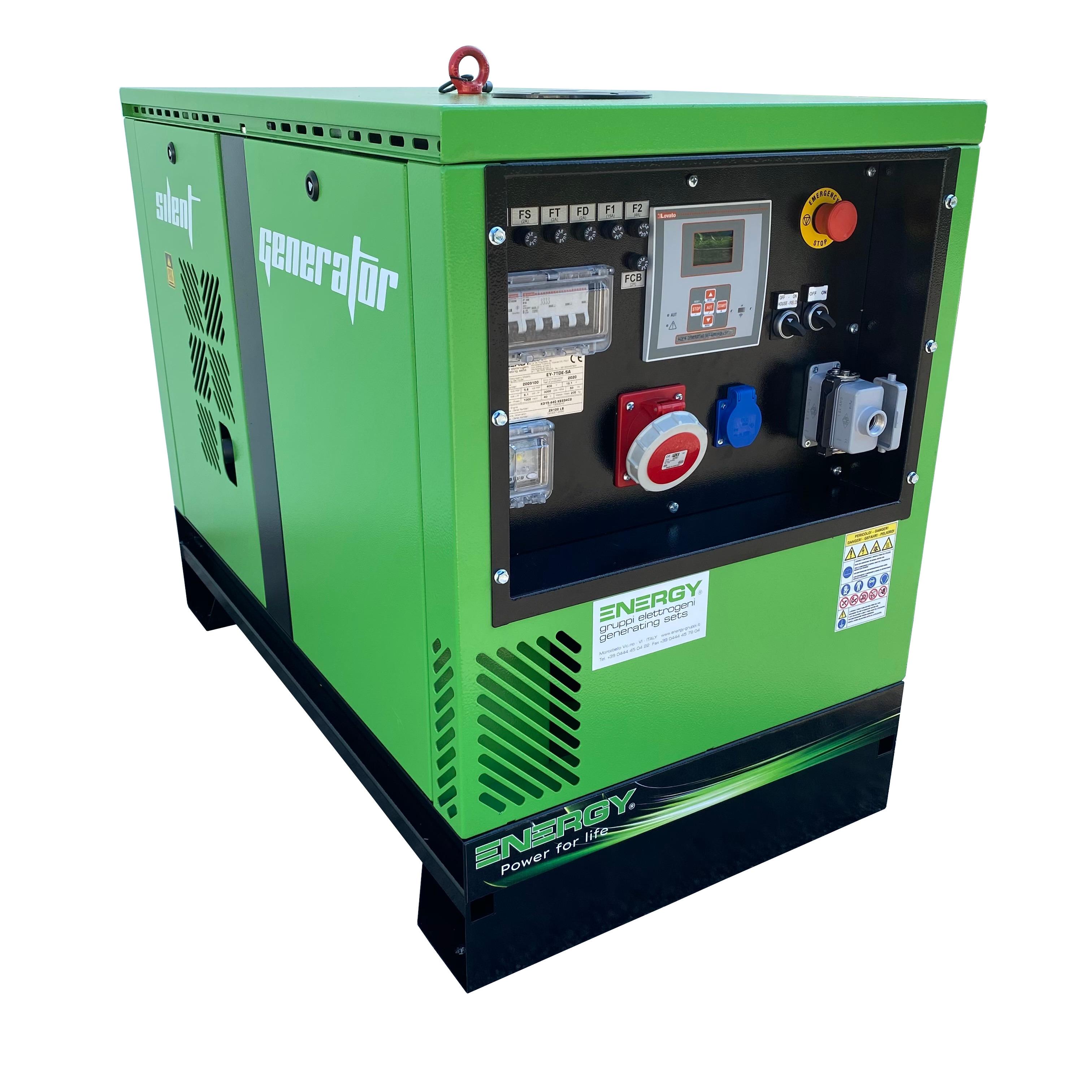 ENERGY Diesel Stromerzeuger 7 kVA 400V ADEY-7TDE-SA Stromaggregat