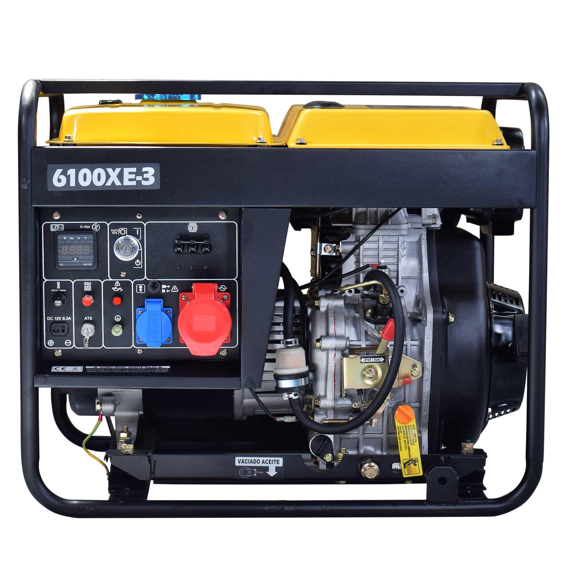KOMPAK 6.9 kVA Diesel 6100XE-3 400 V Stromaggregat