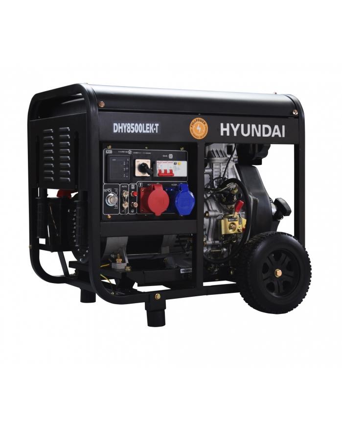 VORVERKAUF!!! HYUNDAI Full Power 8 kVA Diesel DHY8500LEK-T 230&400 V Stromaggregat