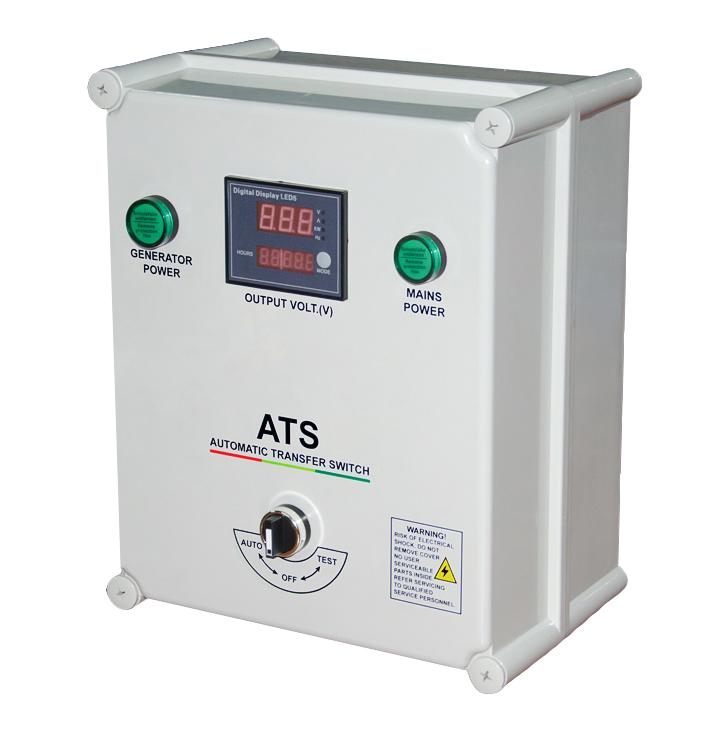 ATS BOX 50A für HYUNDAI & ITC POWER & KOMPAK& WAGNER & B+D Diesel Stromaggregate 230V