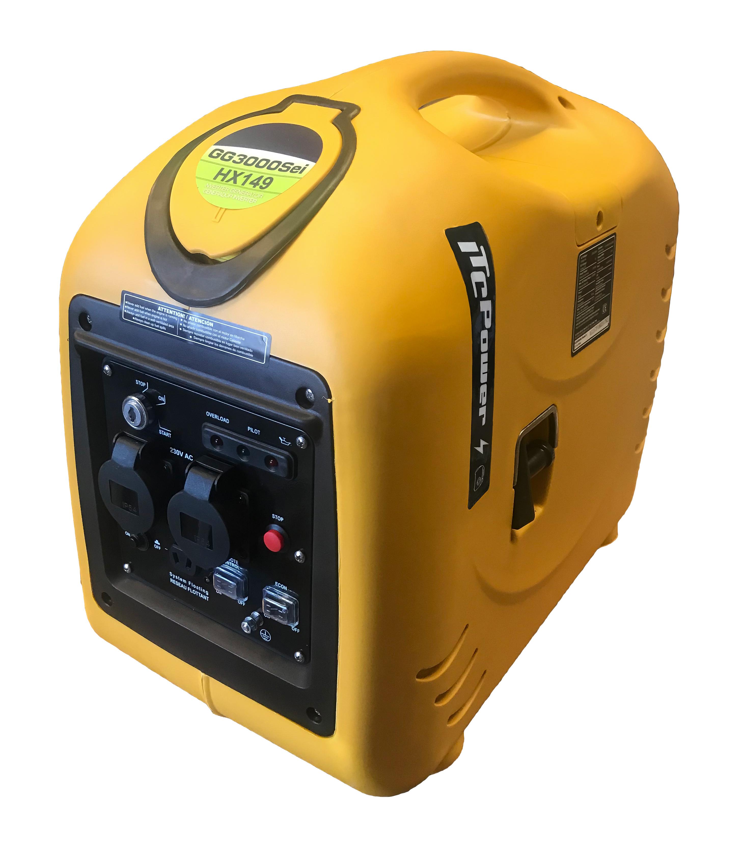 ITC POWER Inverter 3300Watt Benzin GG3000SEI-R Stromaggregat