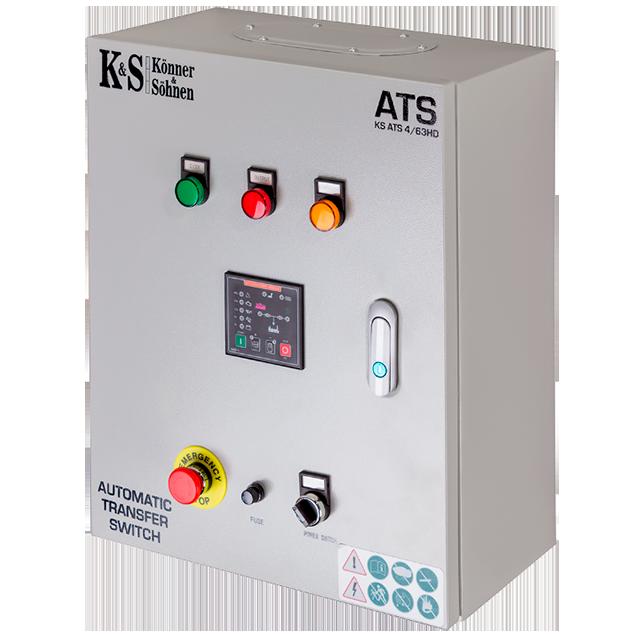 ATS BOX ATS 4 63HD für K&S Stromaggregate Diesel