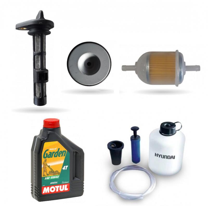 Wartungsset Diesel Komplett Stromaggregate ITC Power / Hyundai / Kompak