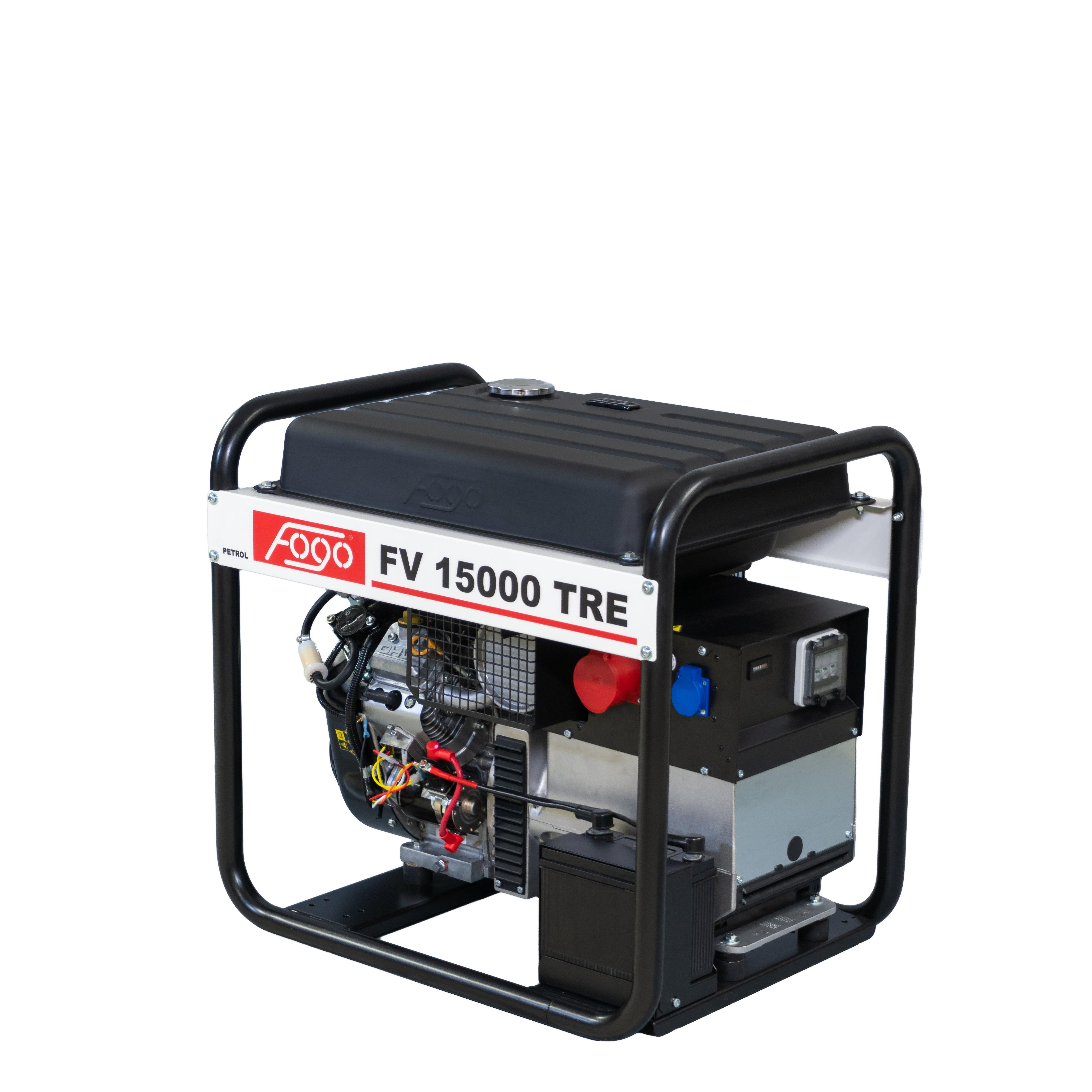 FOGO B&S VANGUARD 14,5 kVA Stromaggregat AVR 400 V FV 15000TRE