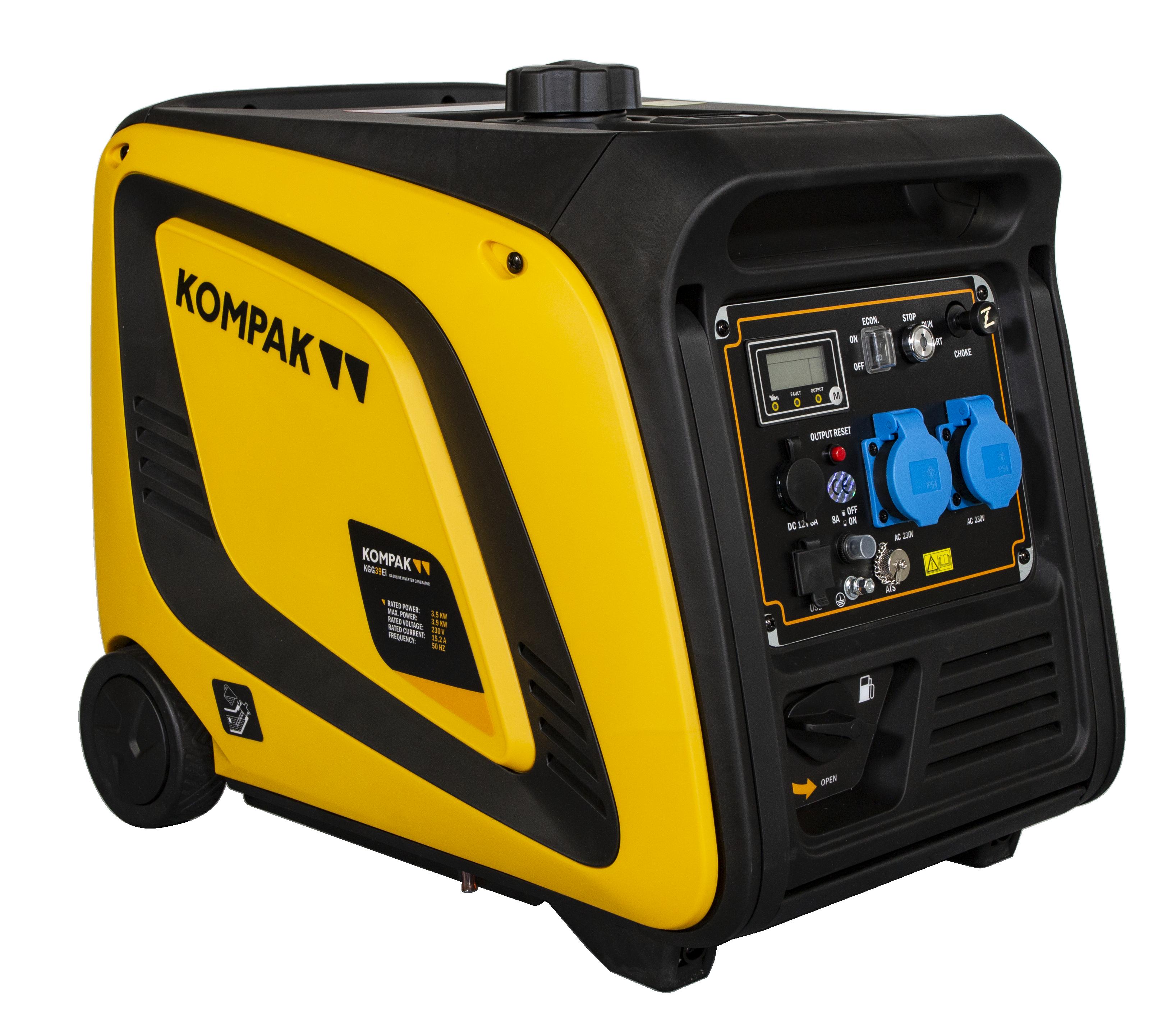 Kompak Inverter Stromaggregat Benzin 3900 Watt KGG39EI auch Werkzeuge