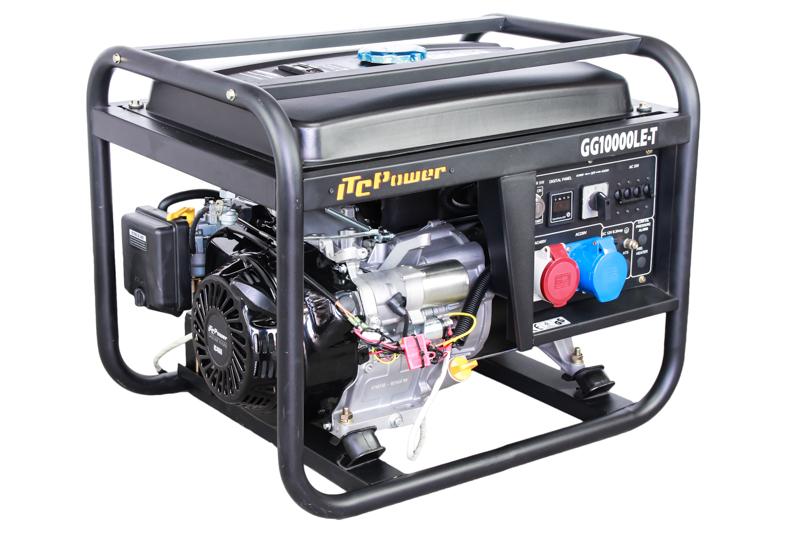 ITC POWER 9,4 kVA Benzin GG10000LE-T Stromaggregat Stromerzeuger