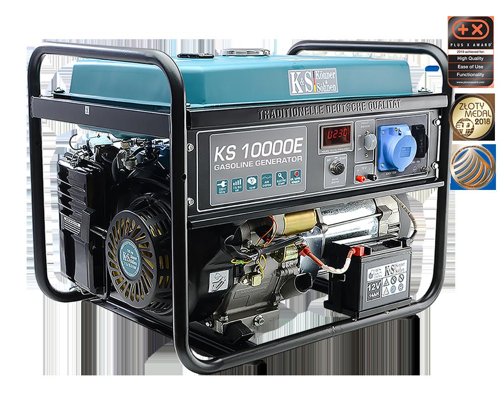 K&S 8.000 Watt Benzin KS10000E Stromaggregat