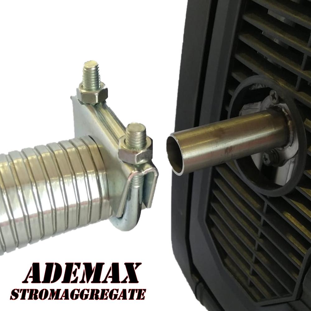 Adapter für Abgasschlauch KGG34EI-DF & WW73001I-DF-EU Champion