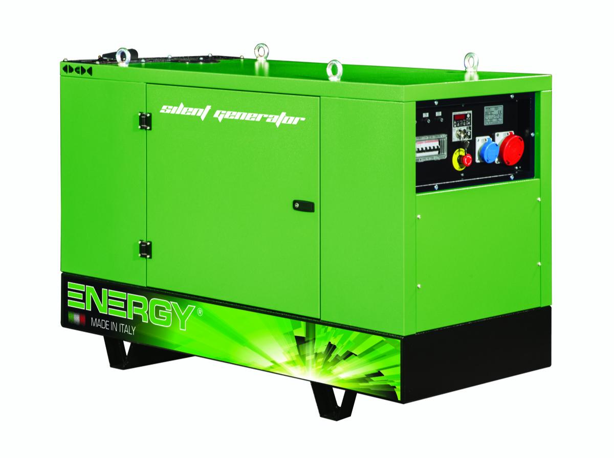 ENERGY Diesel Stromerzeuger 12 KVA 400V ADEY-10,5LWS-SA Stromaggregat