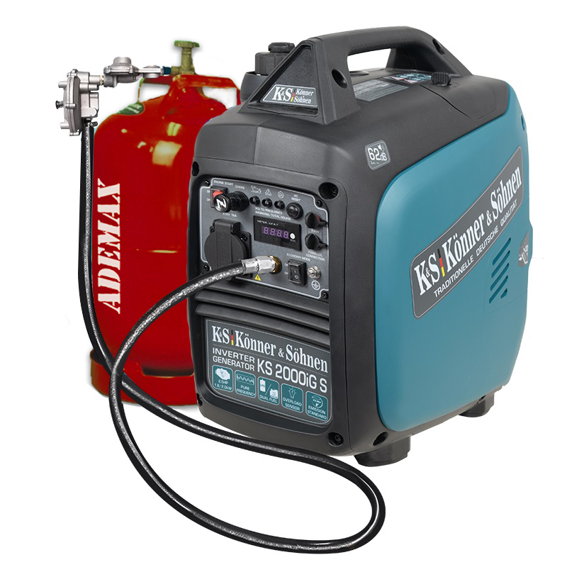 VORVERKAUF!!! K&S Inverter 2.000 Watt Gas & Benzin KS2000iGS Stromaggregat auch Werkzeuge