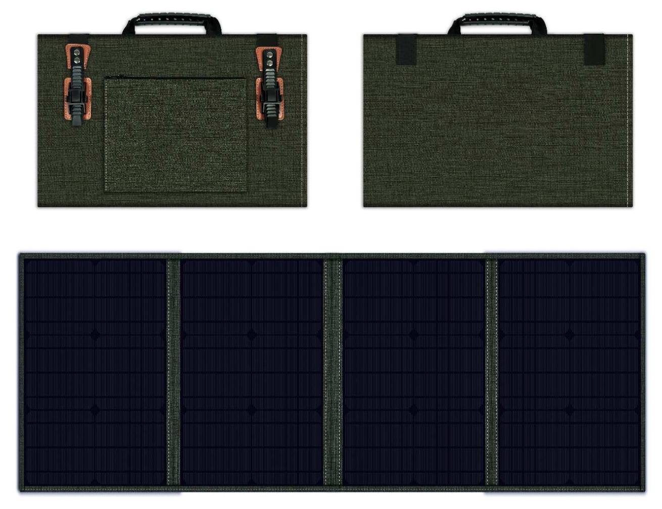 Premium Power 100W Solarpanel