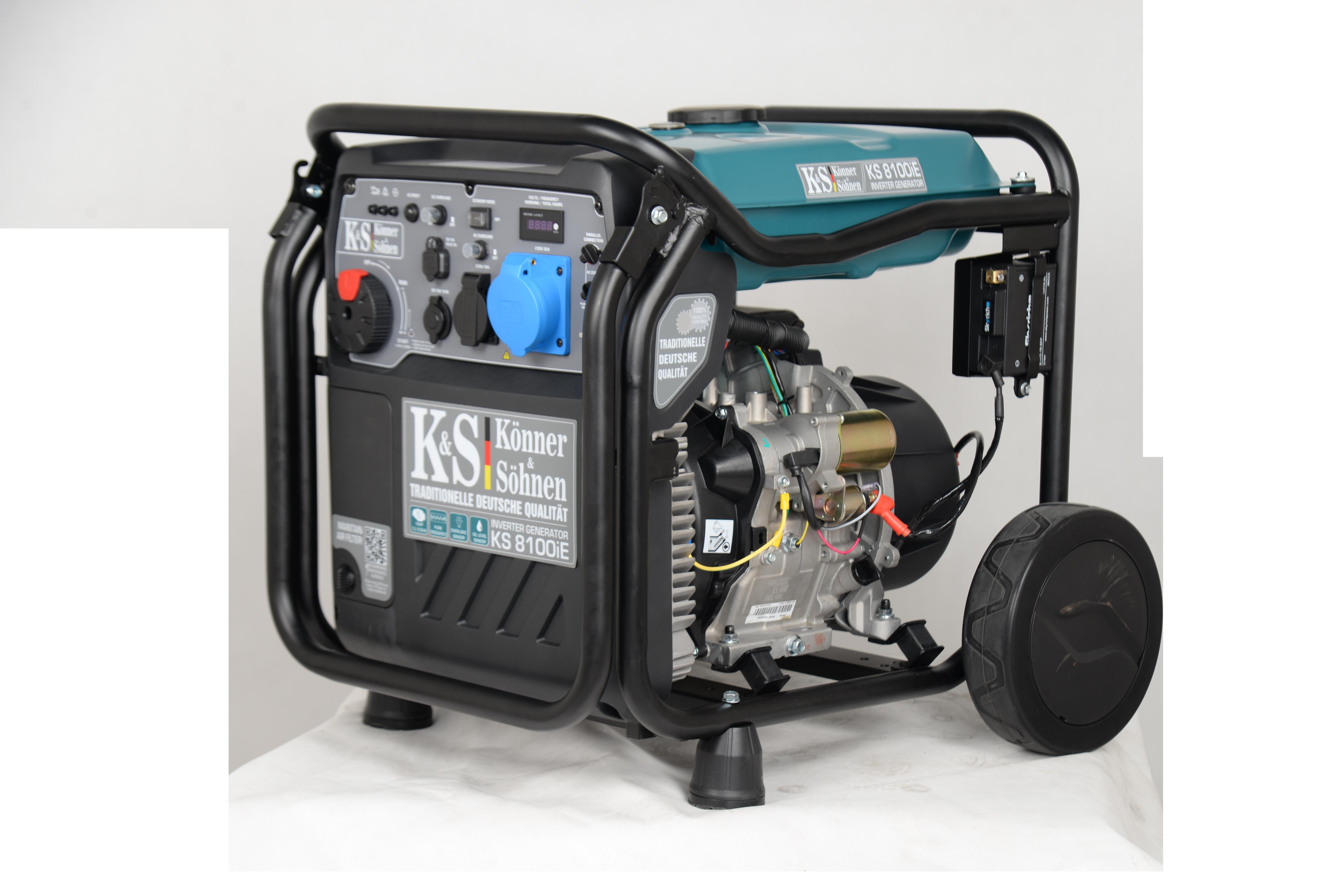 VORVERKAUF!!! K&S Inverter 8.000 Watt Benzin KS8100iE-ATSR Stromaggregat auch Werkzeuge