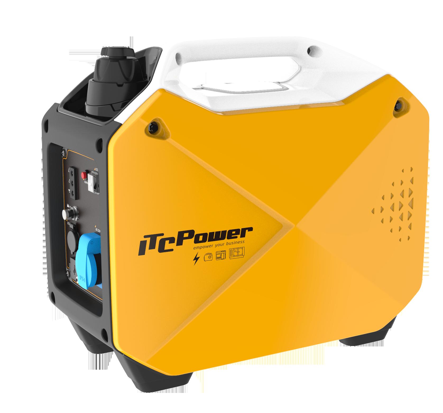 ITC POWER Inverter 1800 Watt Benzin GG18i Stromaggregat auch Werkzeuge