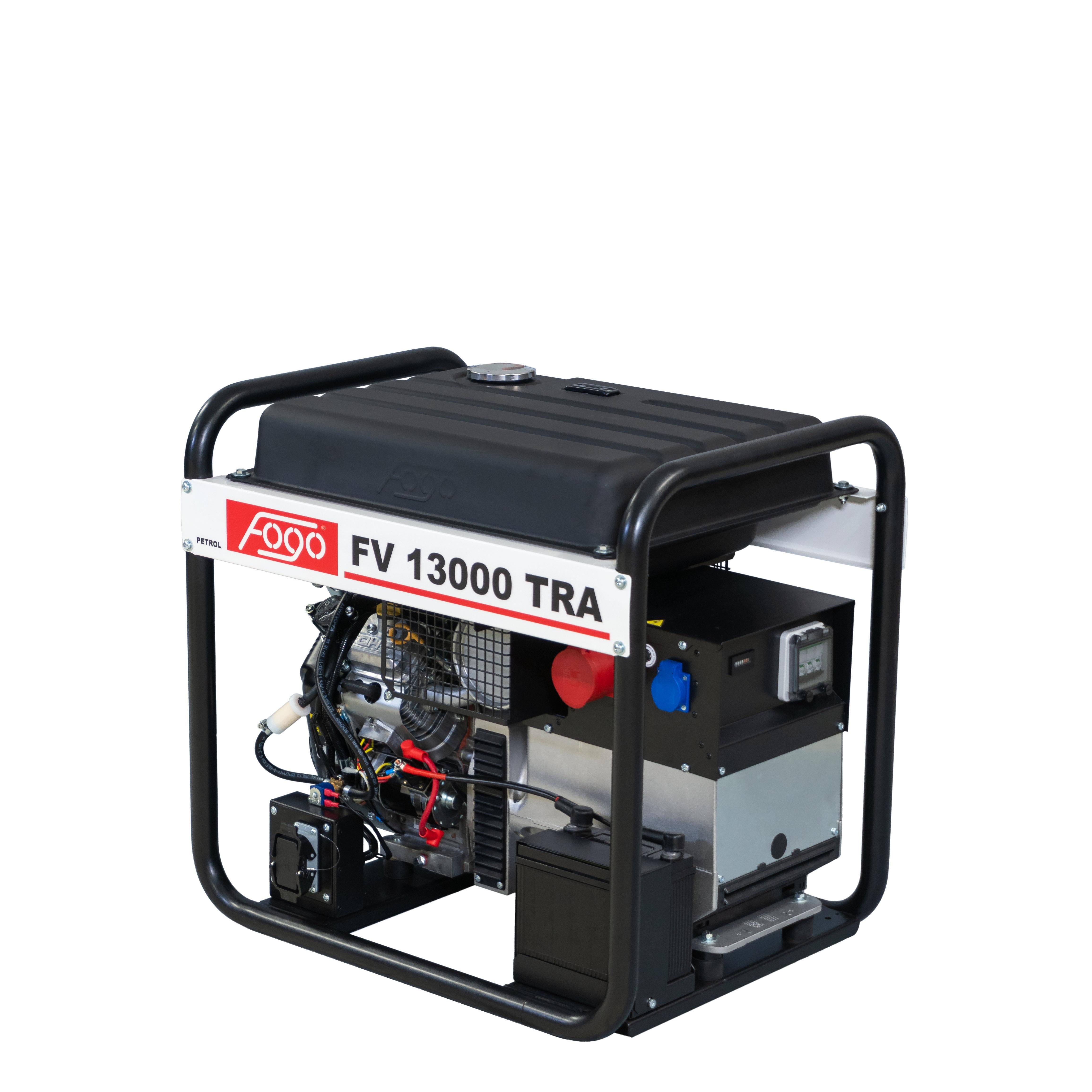 FOGO B&S VANGUARD 12,5 kVA Stromaggregat AVR 400 V FV 13000TRA
