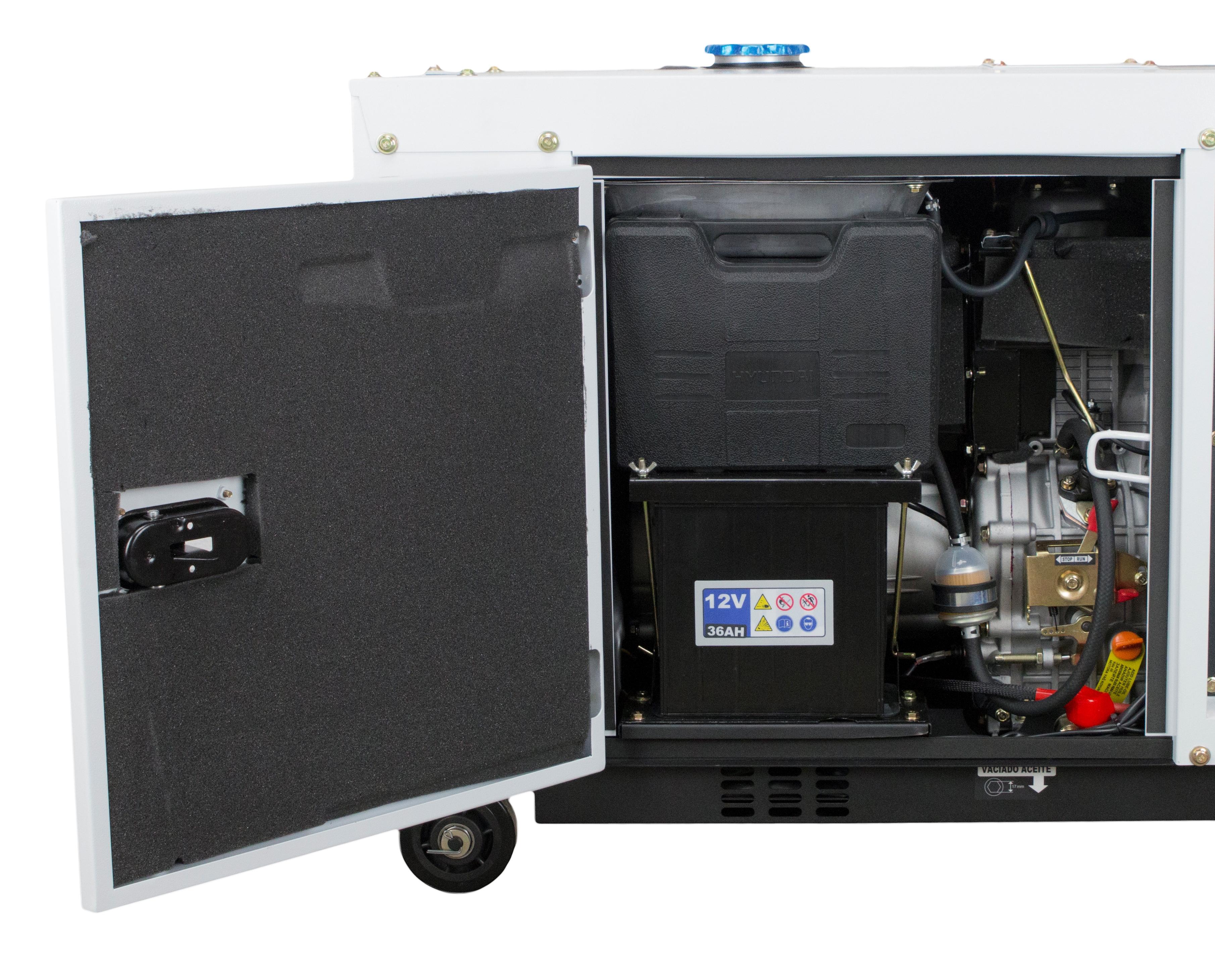 VORVERKAUF!!! HYUNDAI Full Power Stromaggregat Diesel 8 kVA DHY8600SE-T 230&400 V