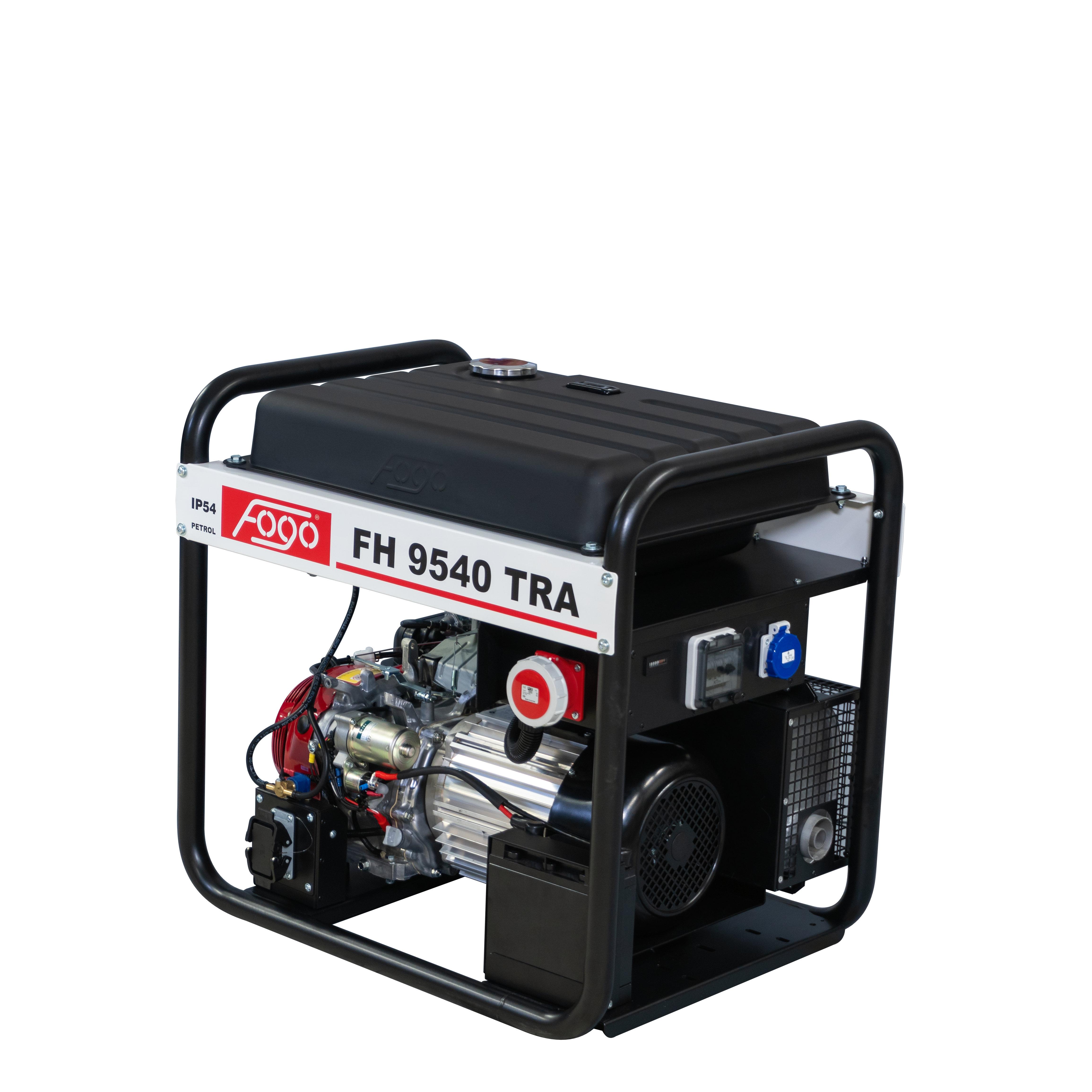 VORVERKAUF!!! FOGO Powered by HONDA 8.1 kVA Stromaggregat AVR 400V FH9540TRA