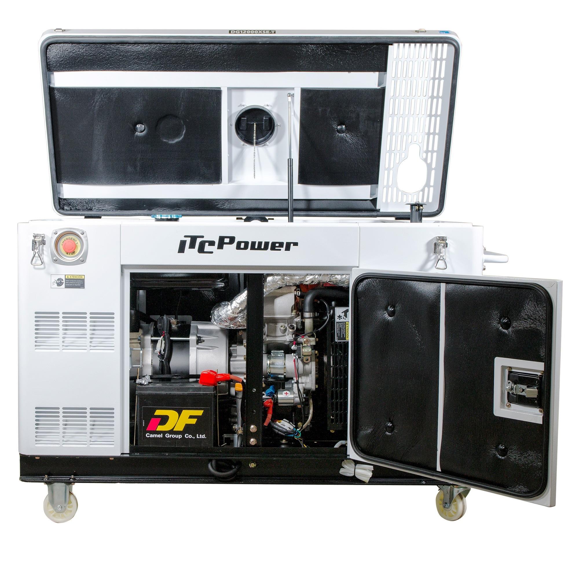 VORVERKAUF!!! ITC POWER 12,5 kVA Wassergekühlt Diesel DG12000XSE-T Stromaggregat