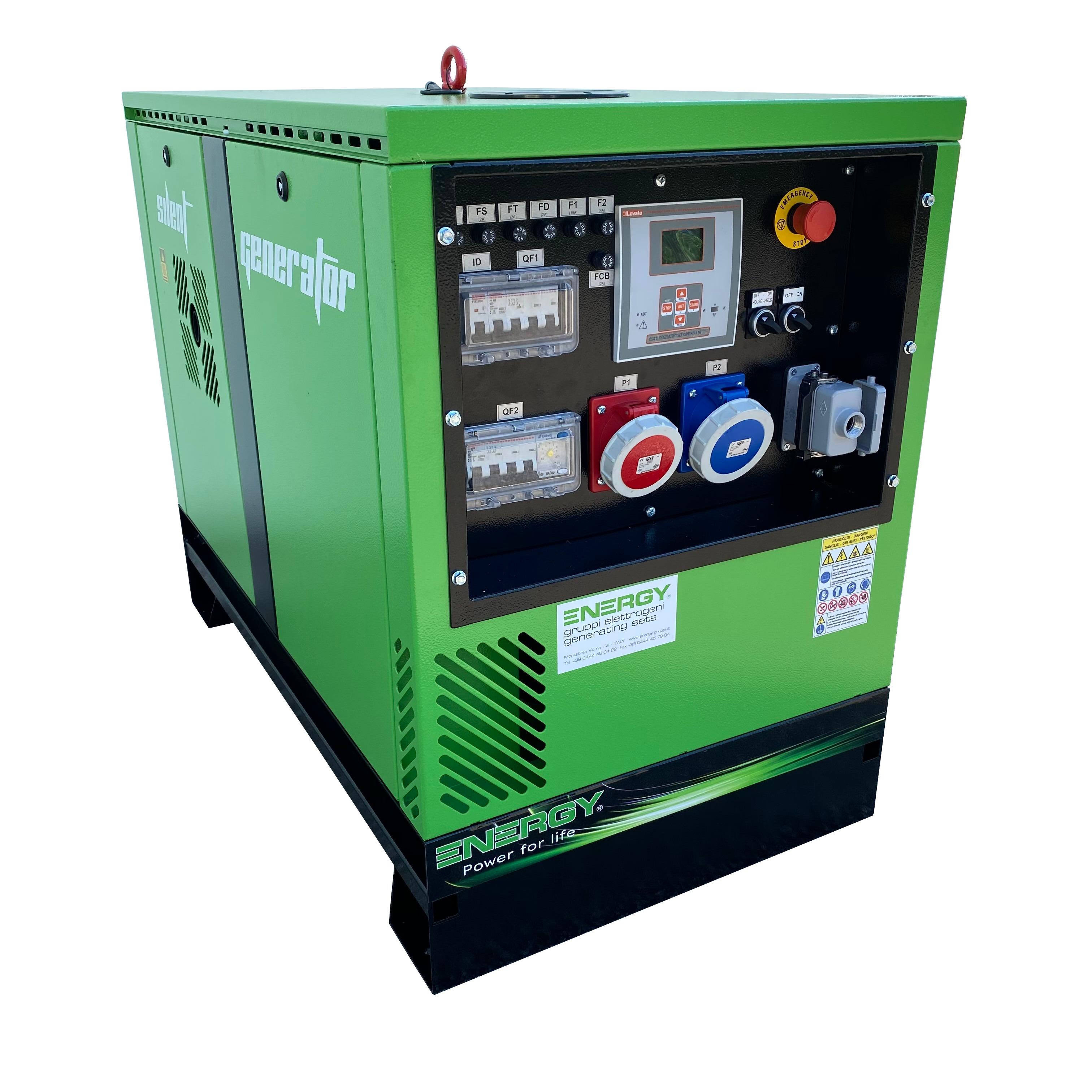 ENERGY Diesel Stromerzeuger 12,2 kVA 400V ADEY-12,5TDE-SA Stromaggregat