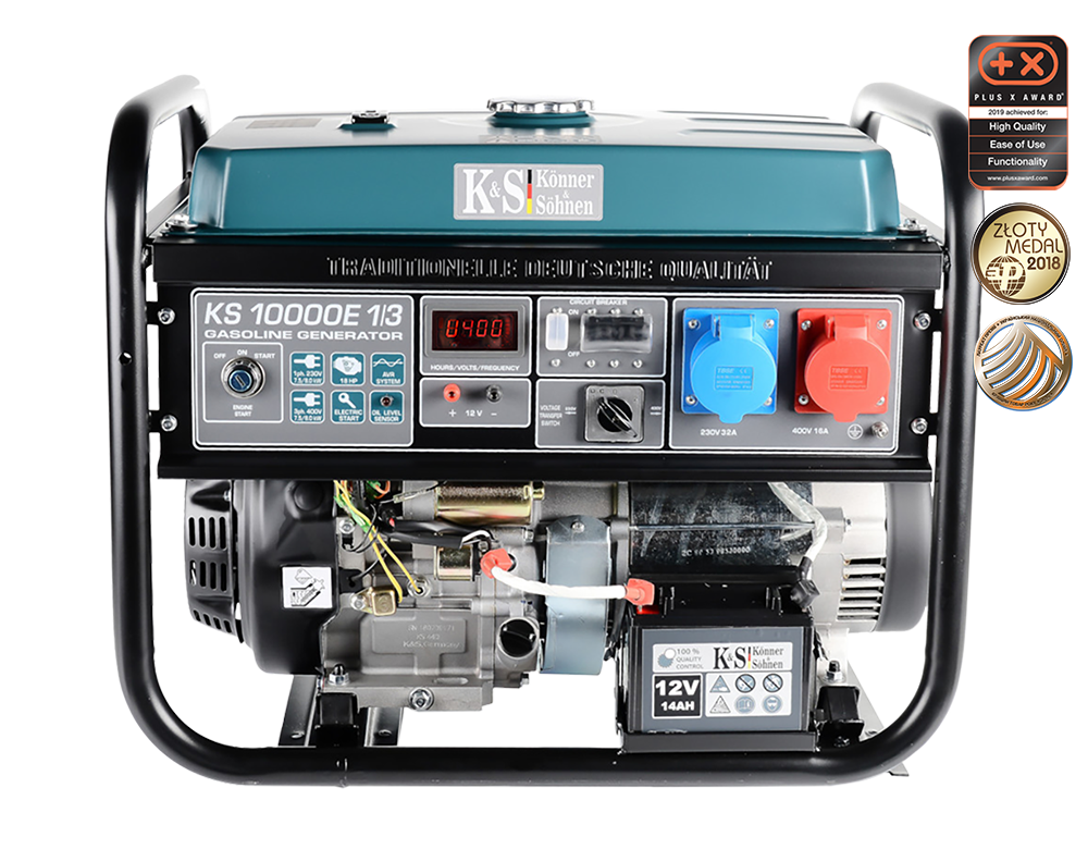 VORVERKAUF!!! K&S 8 kVA Benzin KS10000E 1/3 230V & 400V  Stromaggregat