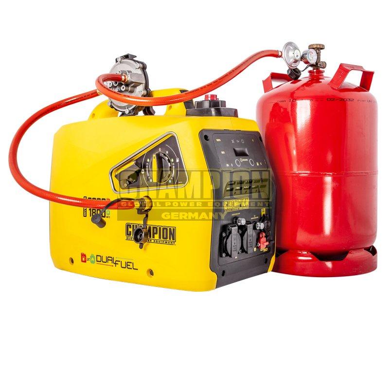 VORVERKAUF!!! Champion 2000 Watt Dual-Fuel Inverter Benzin Gas Generator Notstromaggregat Stromerzeuger 230V EU 82001i-DF-EU