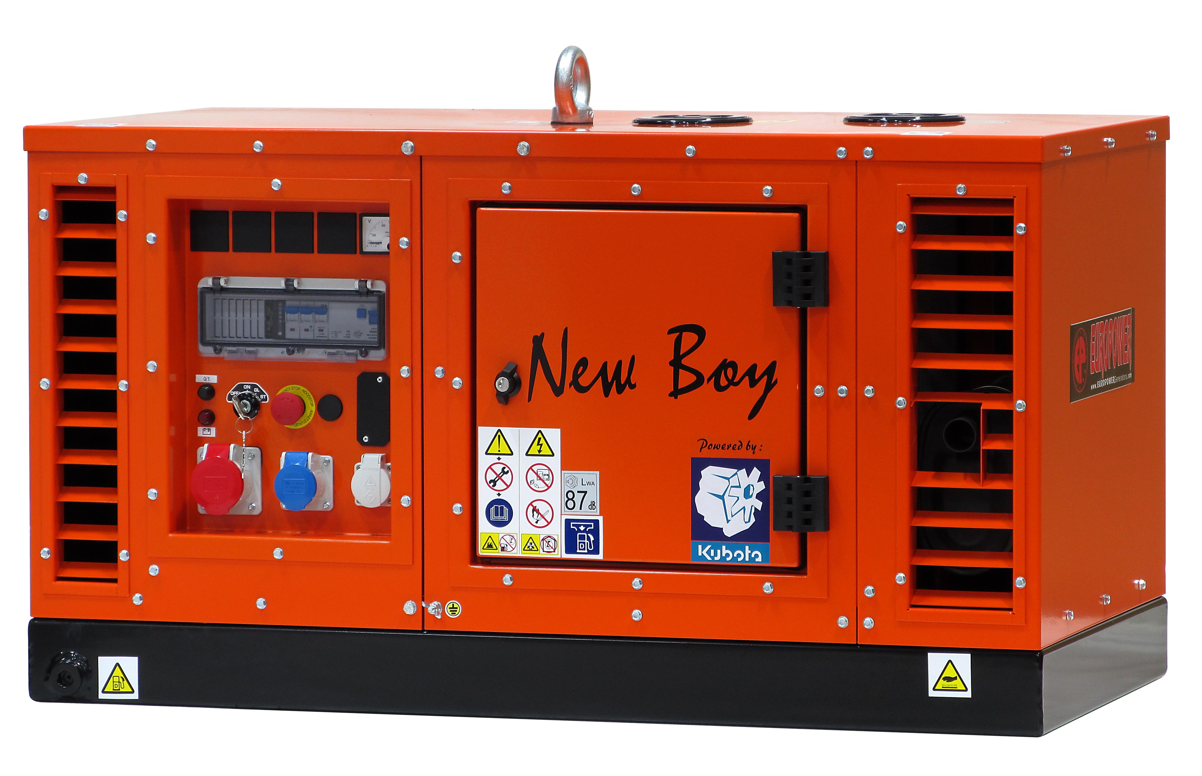 Super-schallgedämmter 8 kVA Stromerzeuger mit Kubota wassergekühltem Dieselmotor