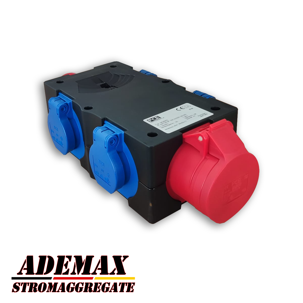 Adapter Verteiler 400V 16A für ITC Power Hyundai Kompak Energy Fogo etc. Stromaggregate