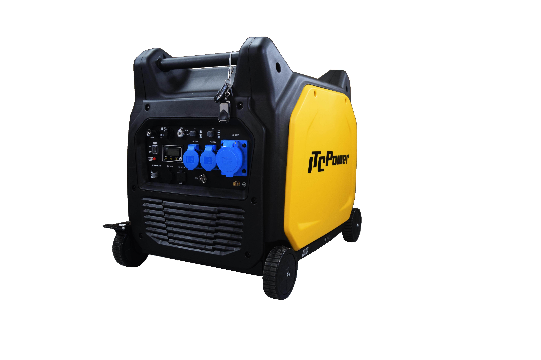 ITC POWER Inverter Stromaggregat Benzin 6500 Watt GG65EI
