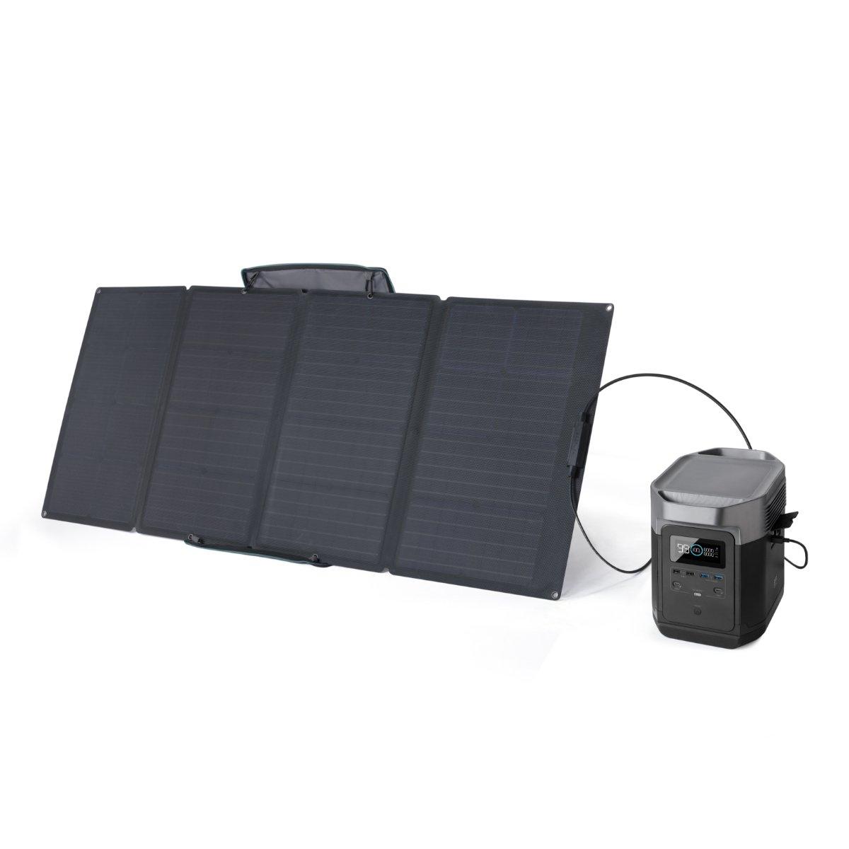 ECOFLOW DELTA 1300 + SOLARPANEL BUNDLE - PORTABLE POWER STATION - EU-VERSION