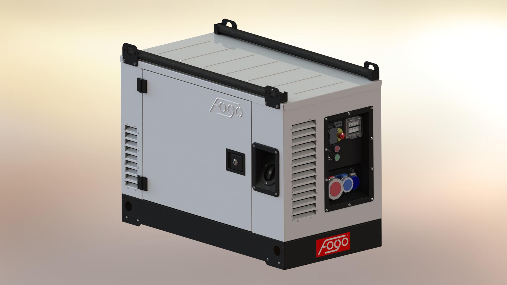 FOGO B&S VANGUARD 14.5 kVA Stromaggregat AVR E-Start FV 15000CRA