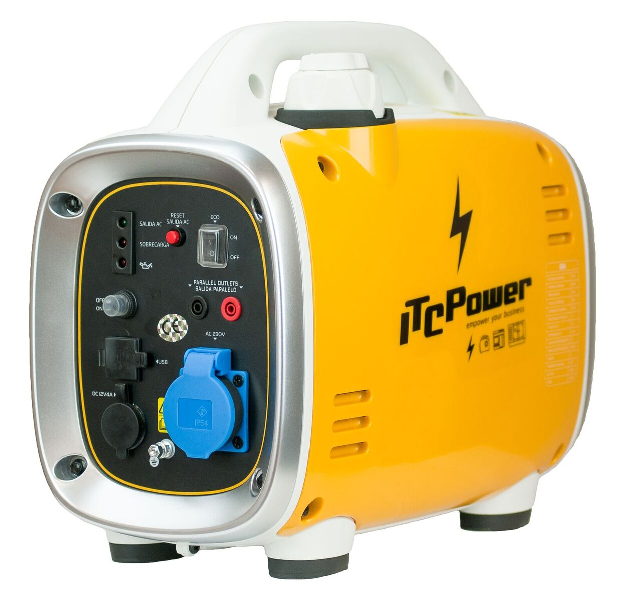 ITC POWER Inverter 900 Watt Benzin GG9i Stromaggregat