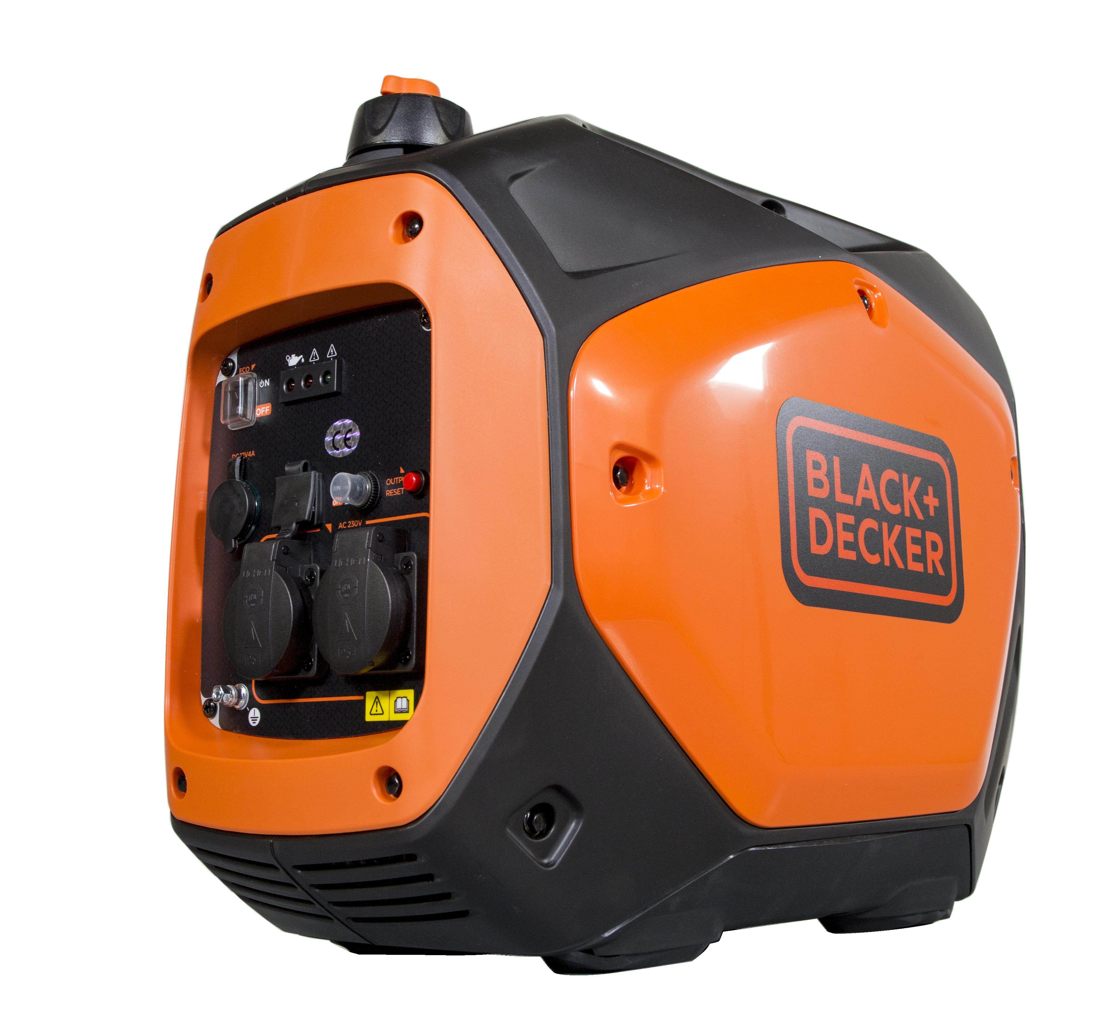 Black + Decker Inverter 2200 Watt Benzin BXGNi2200E Stromaggregat auch Werkzeuge
